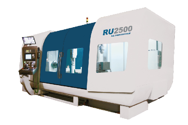 RU2500 CNC Universal grinding machines #ROTORSHAFT #AEROSPACE