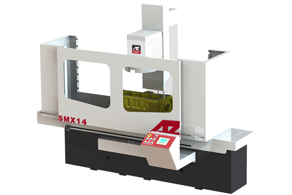 SMX Surface grinding-milling machine